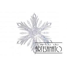 Floco de Neve em Acrílico Tam. M