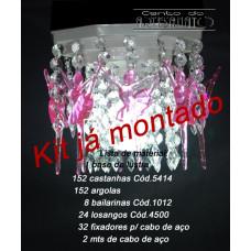 Kit Para Montagem do Lustre Eco Bailarina